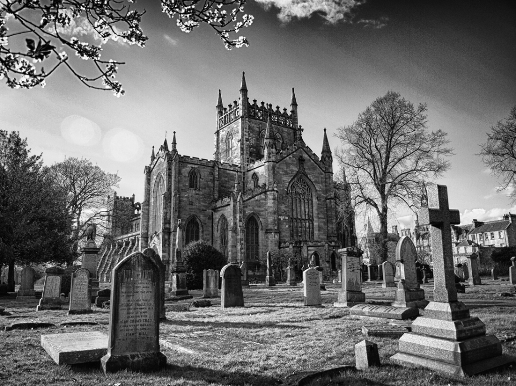 Dunfermline Abbey - Viewed from the Southeast.