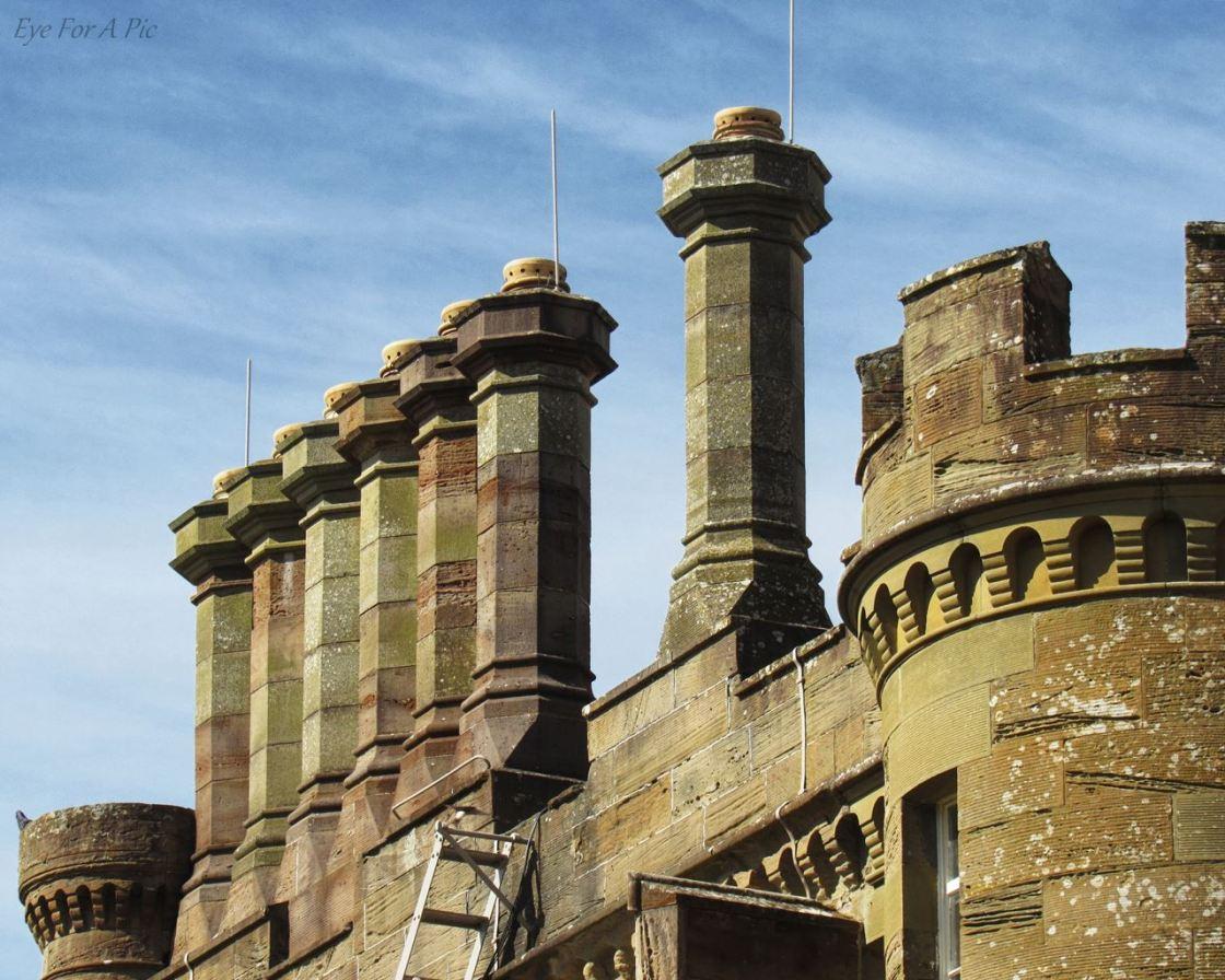 Culzean Castle - More Chimneys